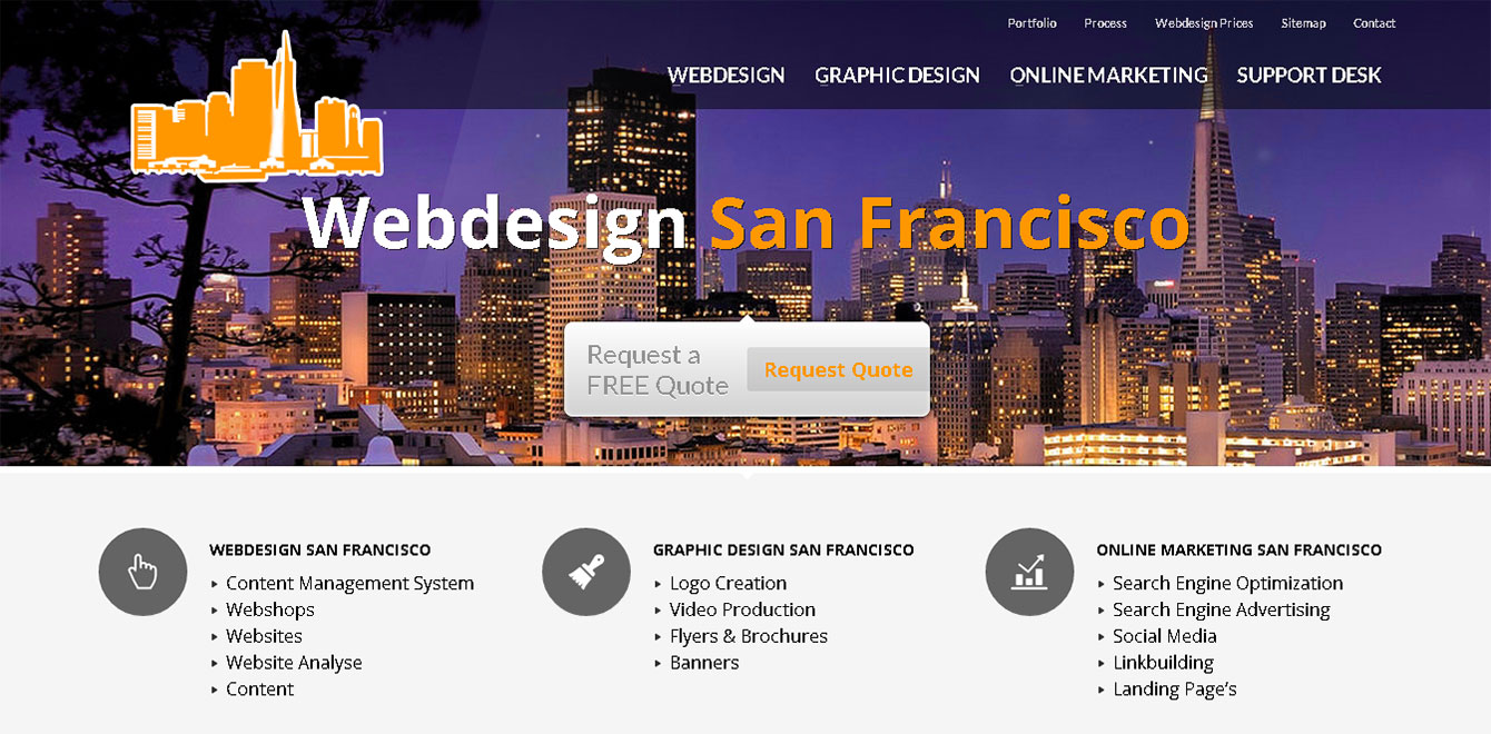 Webdesign San Francisco